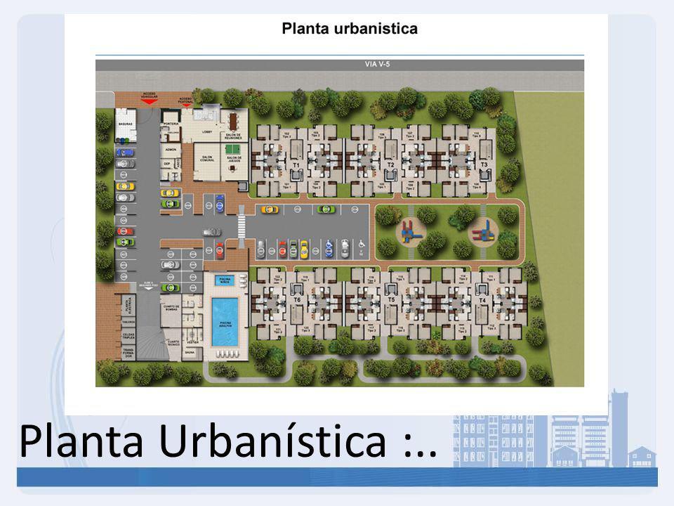 Planta Urbanística :..