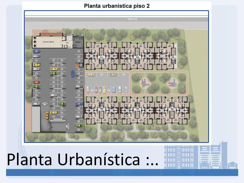 Planta Urbanística :.. 7
