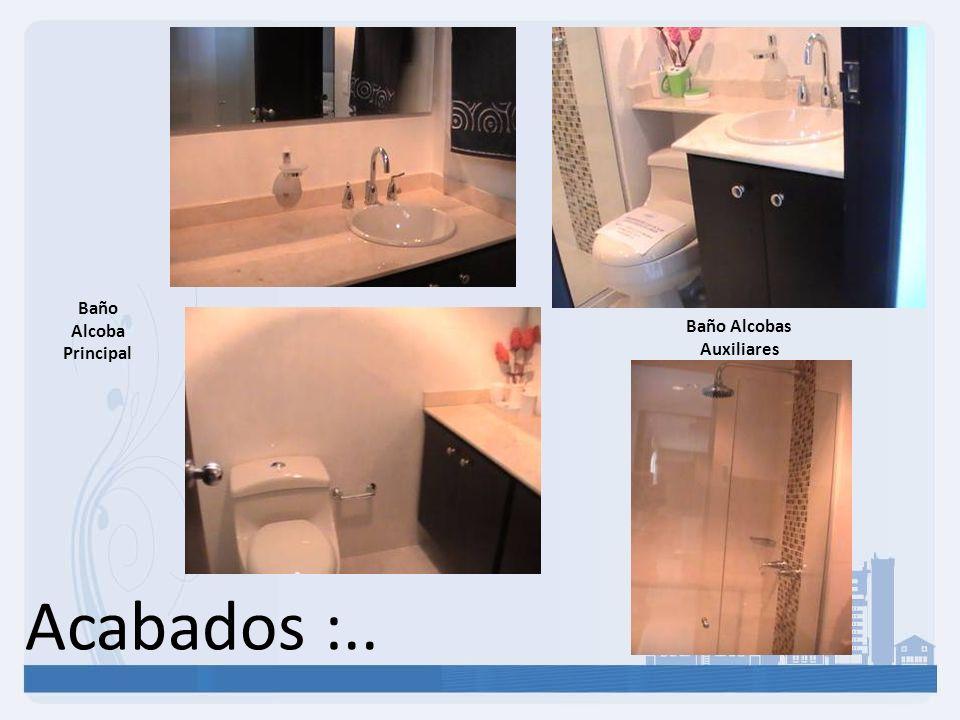 Baño Alcobas Auxiliares