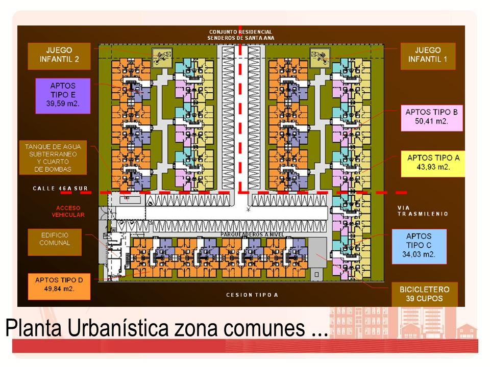 Planta Urbanística zona comunes ...