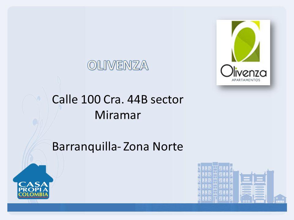 OLIVENZA Calle 100 Cra. 44B sector Miramar Barranquilla- Zona Norte