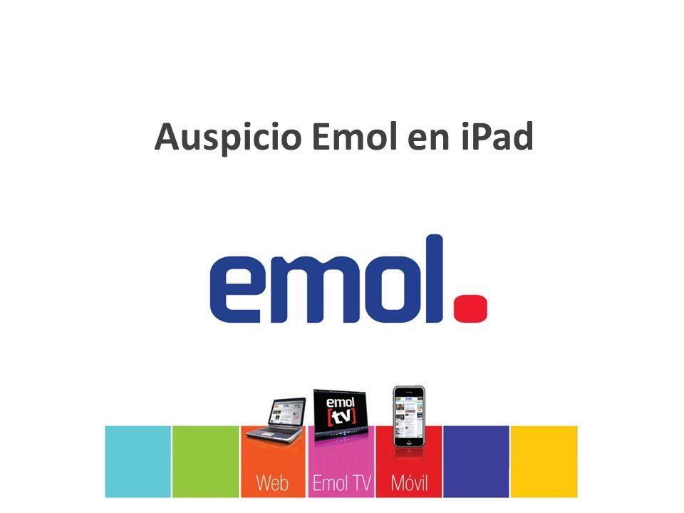 Auspicio Emol en iPad