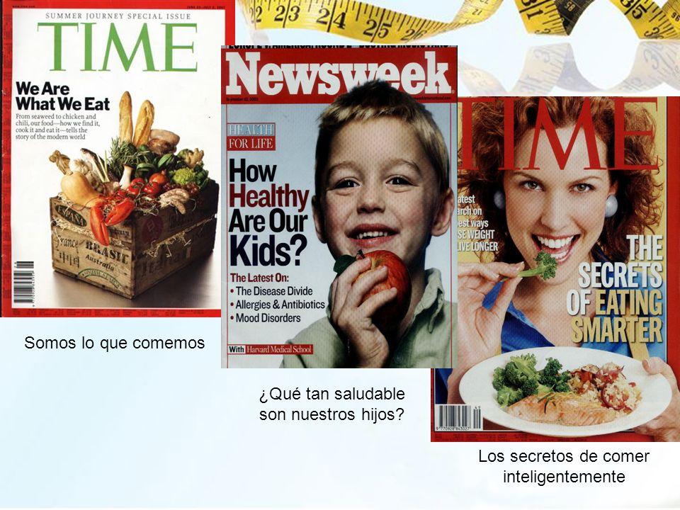 ¿Qué tan saludable son nuestros hijos