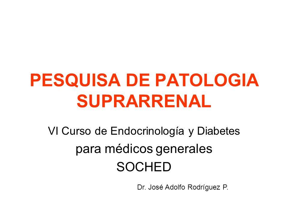 PESQUISA DE PATOLOGIA SUPRARRENAL