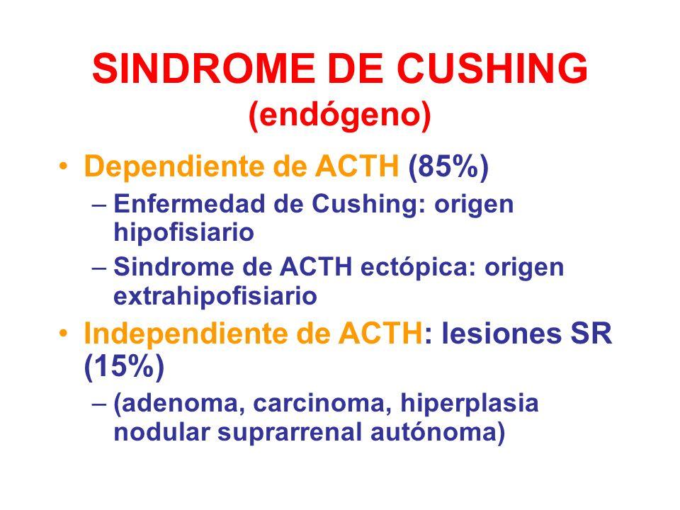 SINDROME DE CUSHING (endógeno)