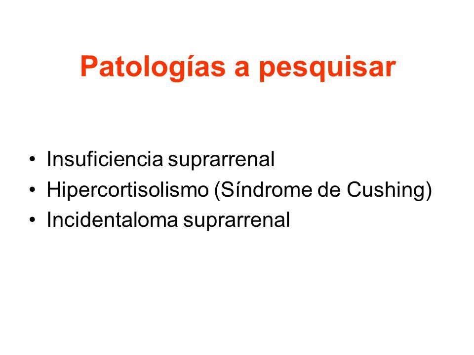 Patologías a pesquisar