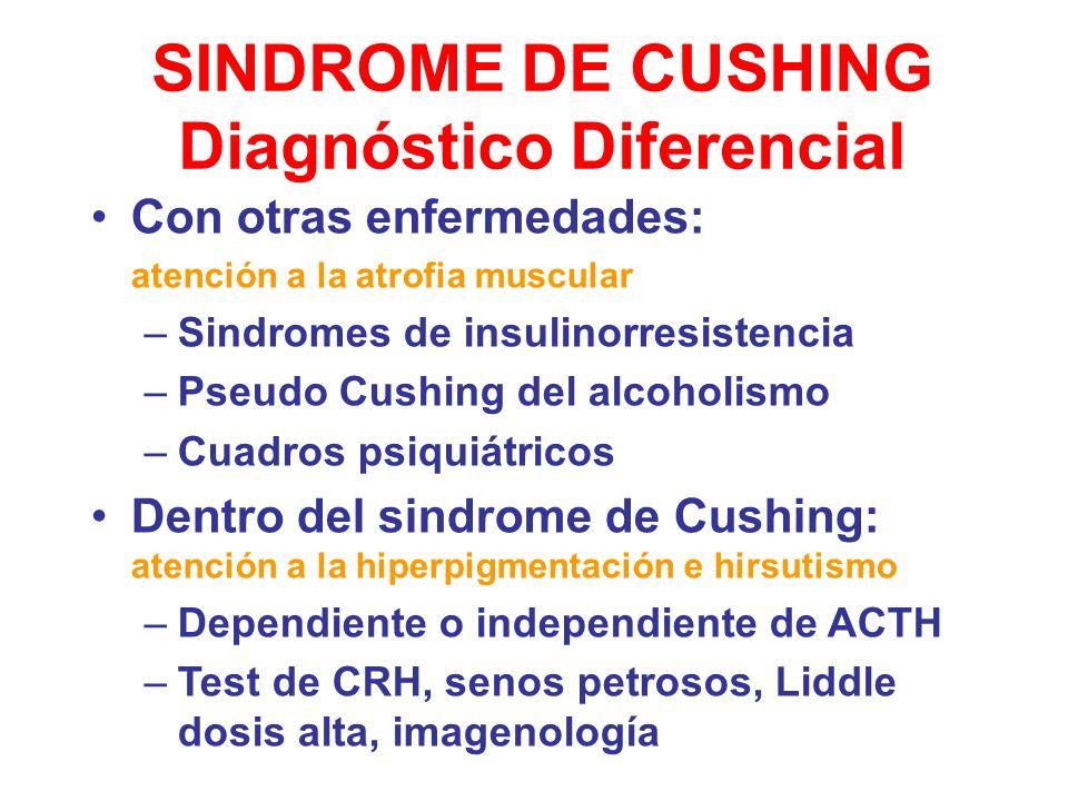 SINDROME DE CUSHING Diagnóstico Diferencial