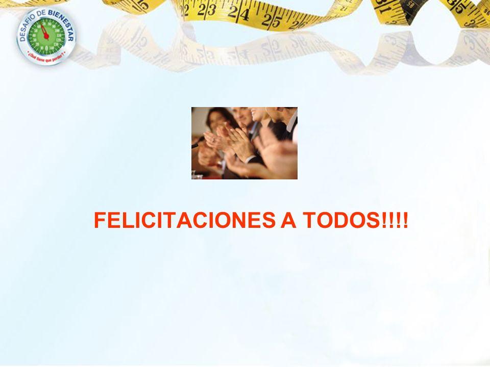 FELICITACIONES A TODOS!!!!