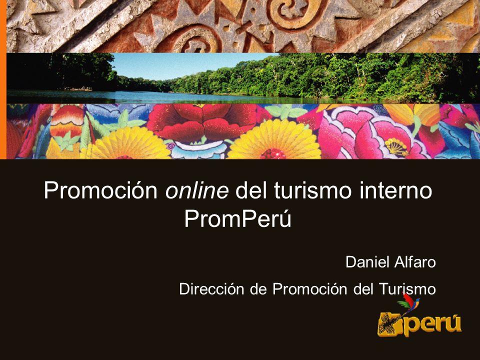 Promoción online del turismo interno
