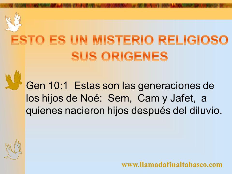 ESTO ES UN MISTERIO RELIGIOSO