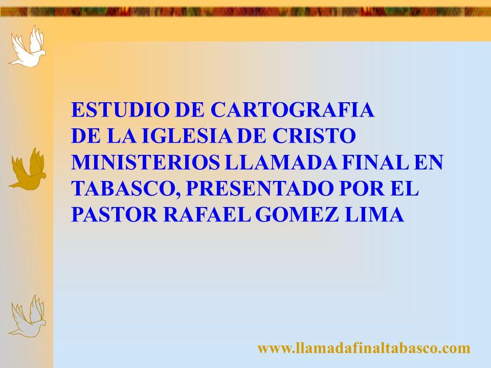 ESTUDIO DE CARTOGRAFIA