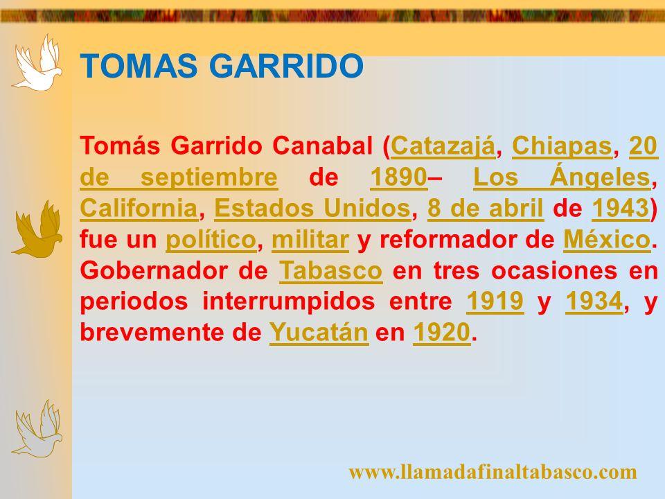 TOMAS GARRIDO