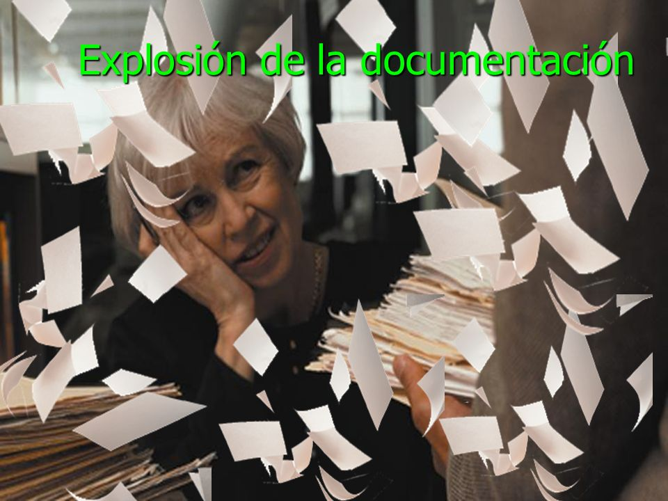 Explosión de la documentación