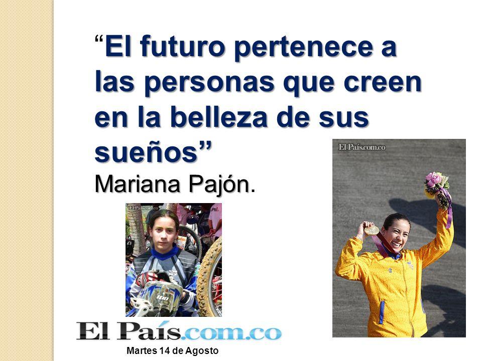 El futuro pertenece a las personas que creen en la belleza de sus sueños