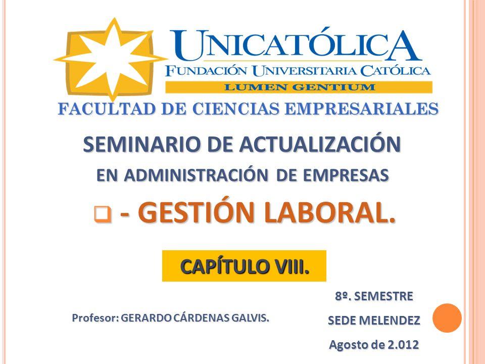 SEMINARIO DE ACTUALIZACIÓN en administración de empresas