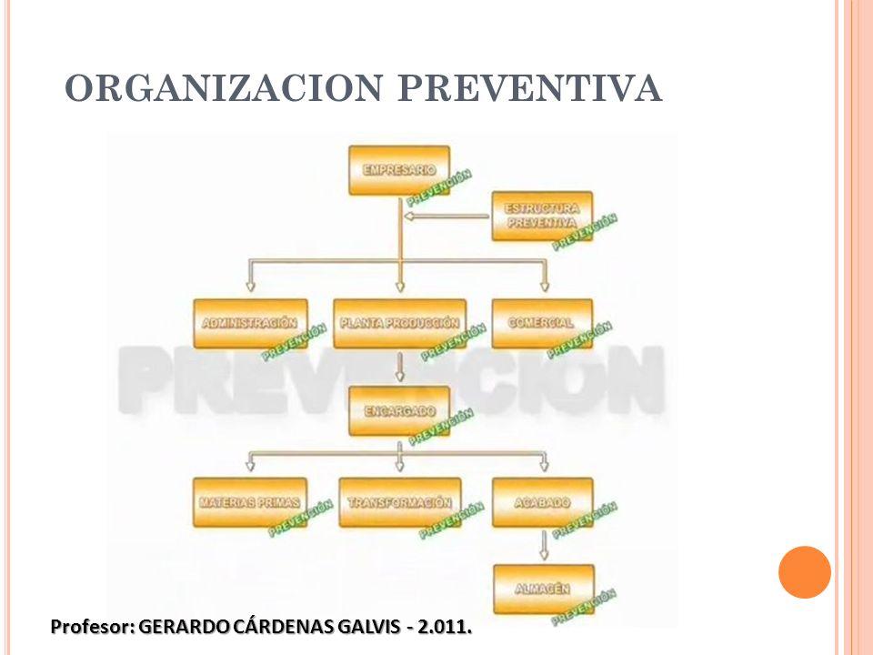 ORGANIZACION PREVENTIVA