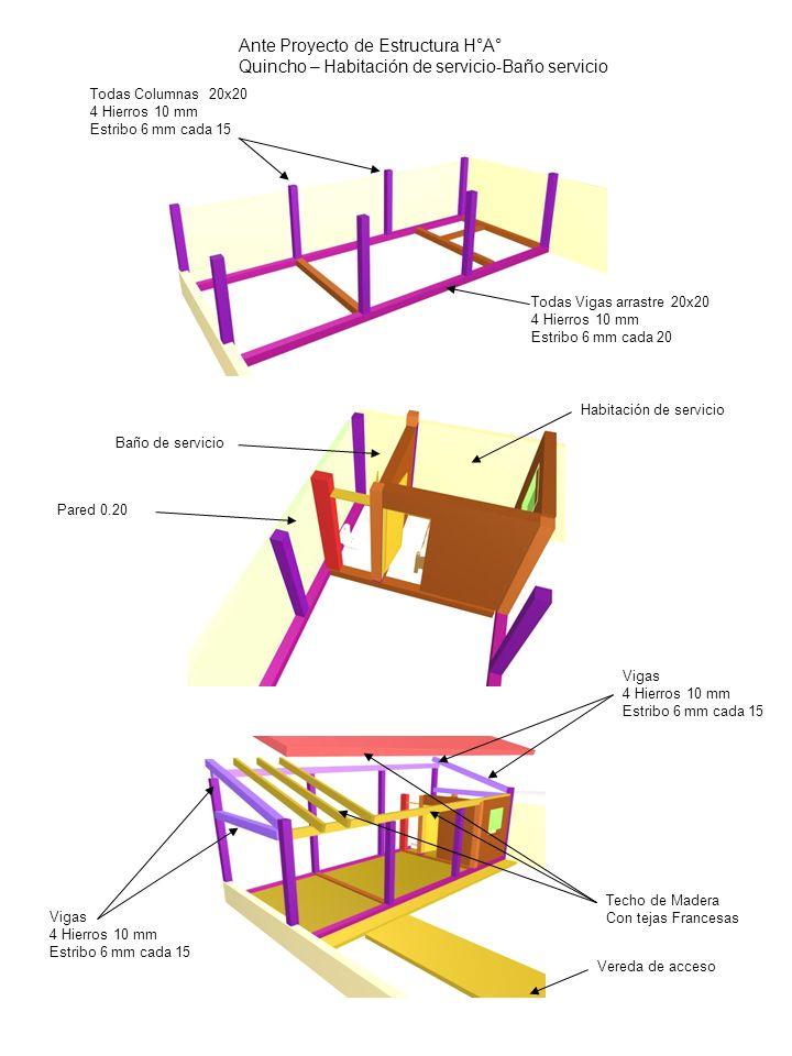 Ante Proyecto de Estructura H°A°
