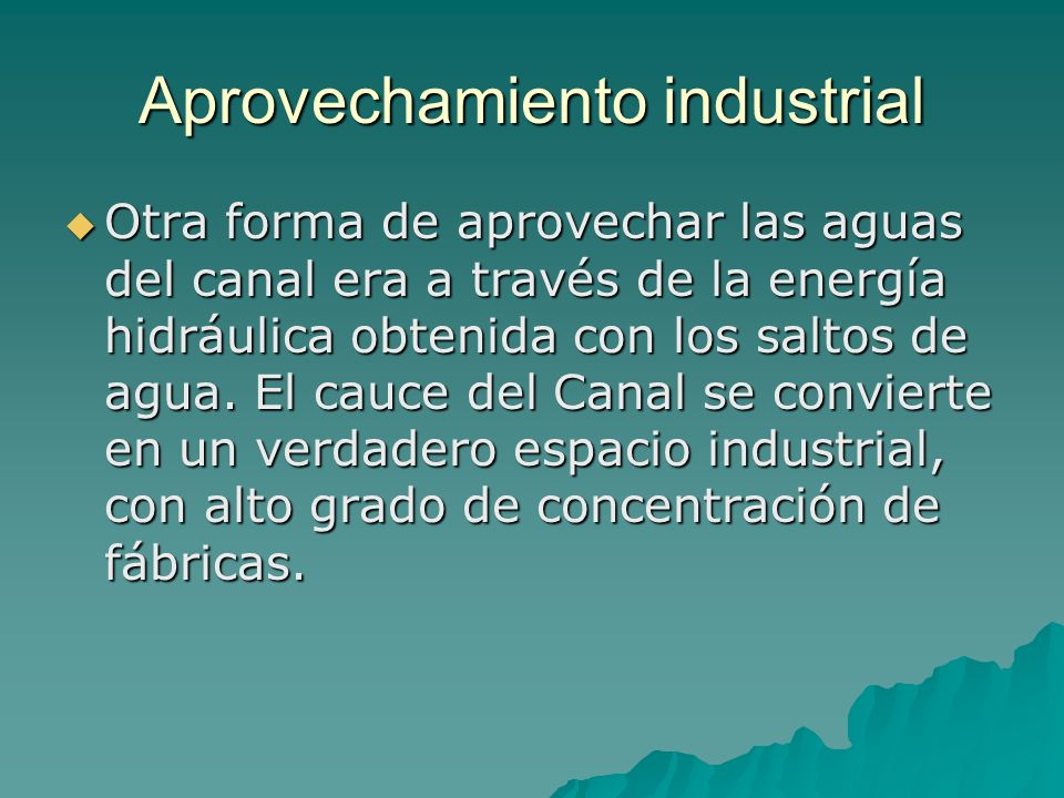 Aprovechamiento industrial