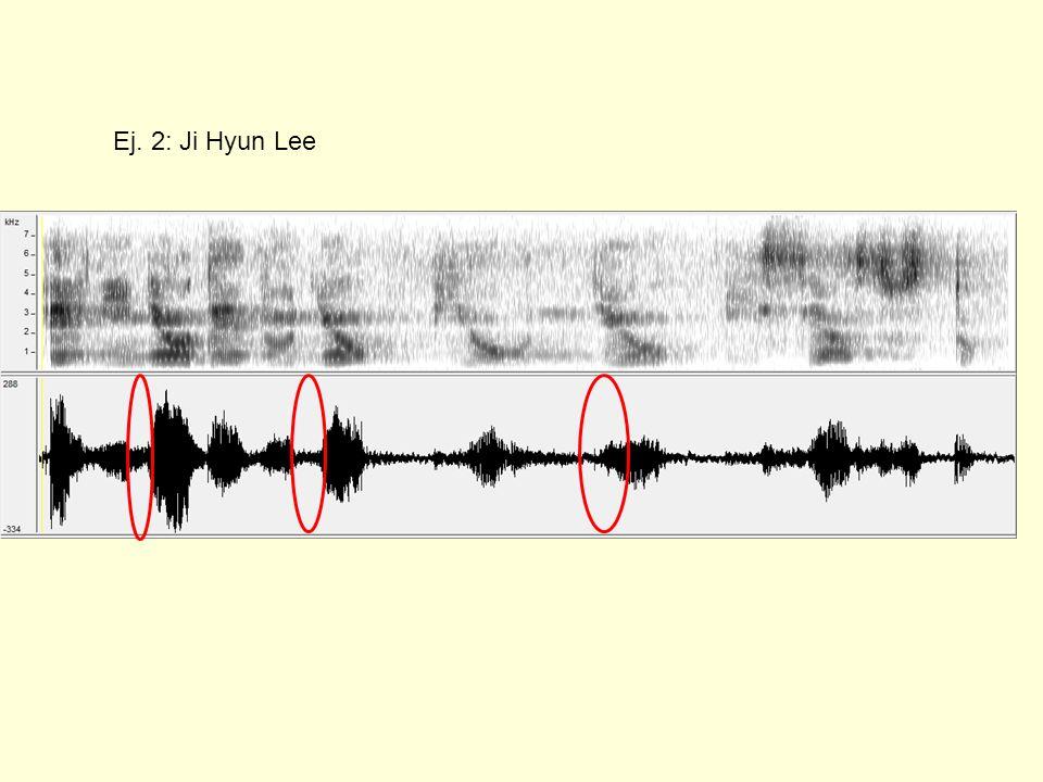 Ej. 2: Ji Hyun Lee