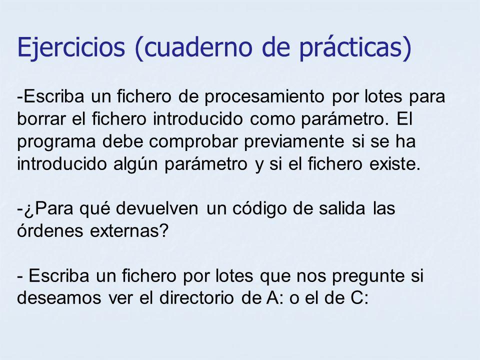 Ejercicios (cuaderno de prácticas)
