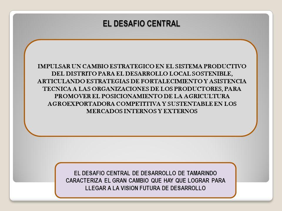 EL DESAFIO CENTRAL