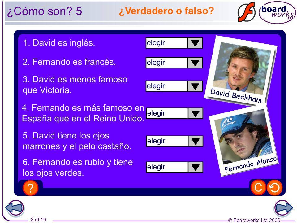 ¿Cómo son 5 ¿Verdadero o falso Photo credits: