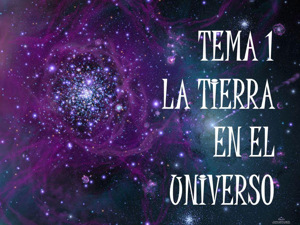 TEMA 1 LA TIERRA EN EL UNIVERSO