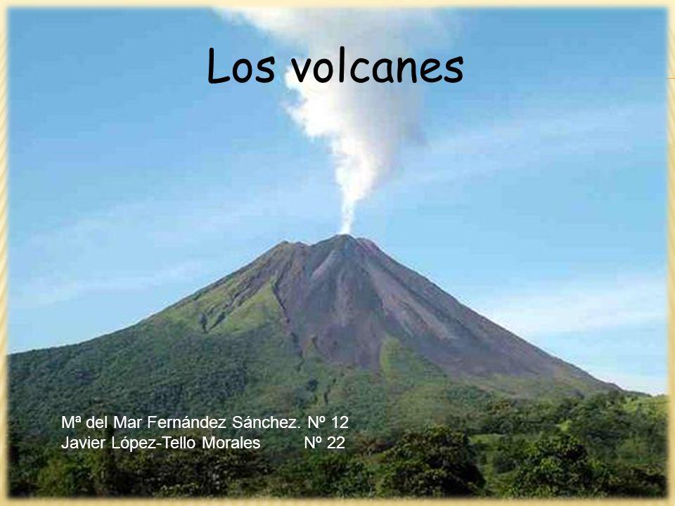 Los volcanes Mª del Mar Fernández Sánchez. Nº 12