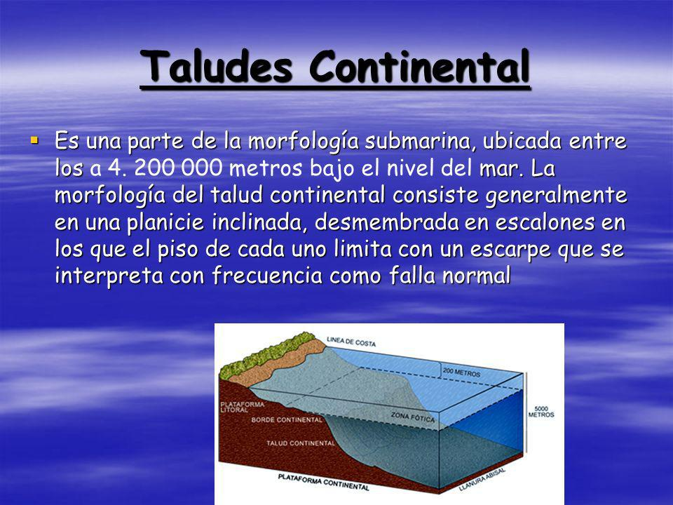 Taludes Continental