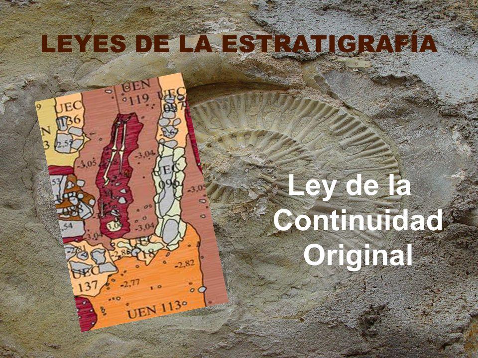 LEYES DE LA ESTRATIGRAFÍA
