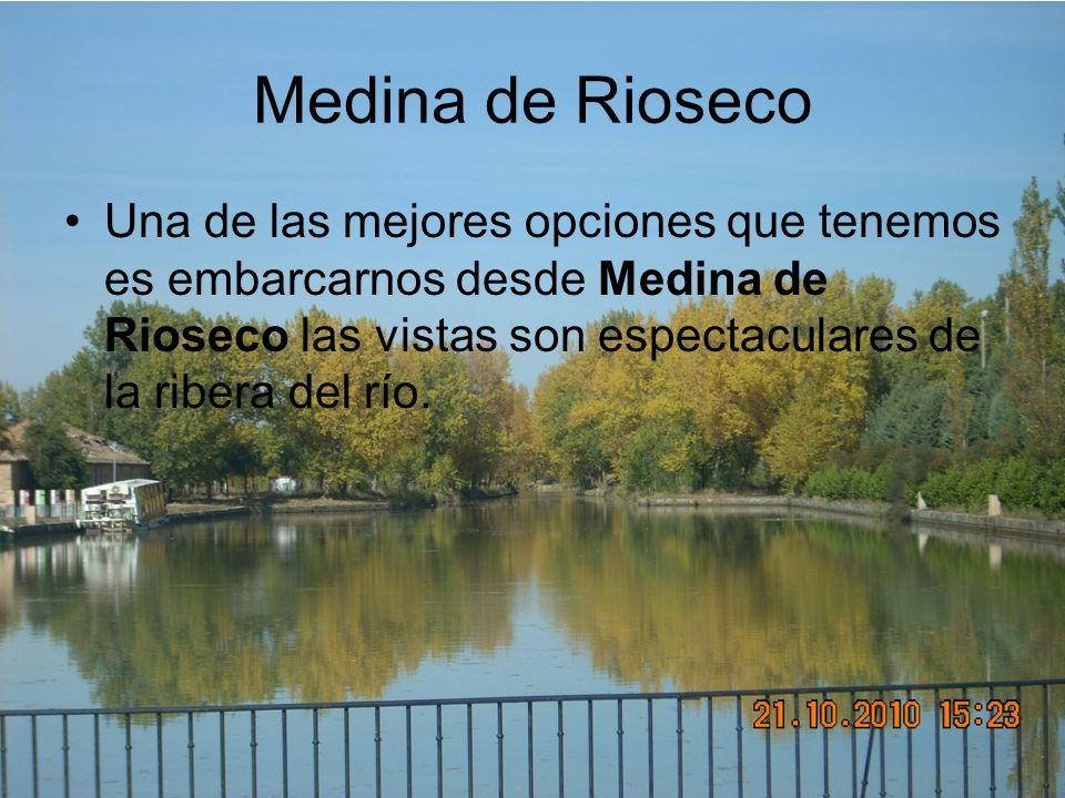 Medina de RiosecoUna de las mejores opciones que tenemos es embarcarnos desde Medina de Rioseco las vistas son espectaculares de la ribera del río.