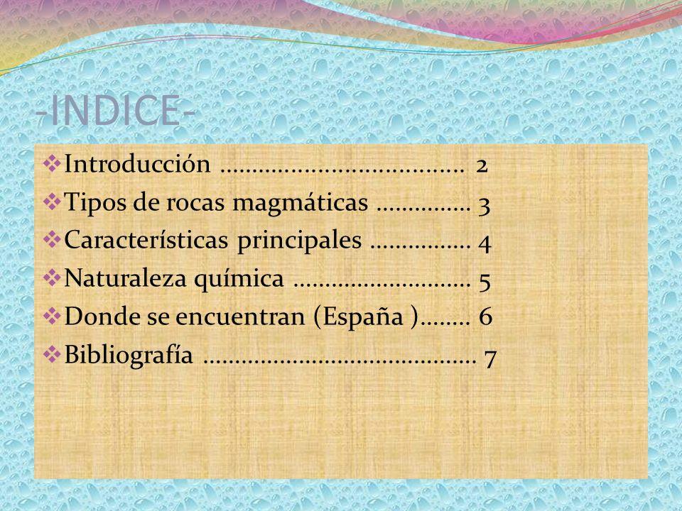 -INDICE- Introducción ..................................... 2