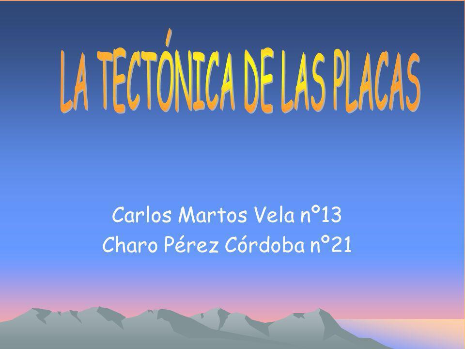 Carlos Martos Vela nº13 Charo Pérez Córdoba nº21
