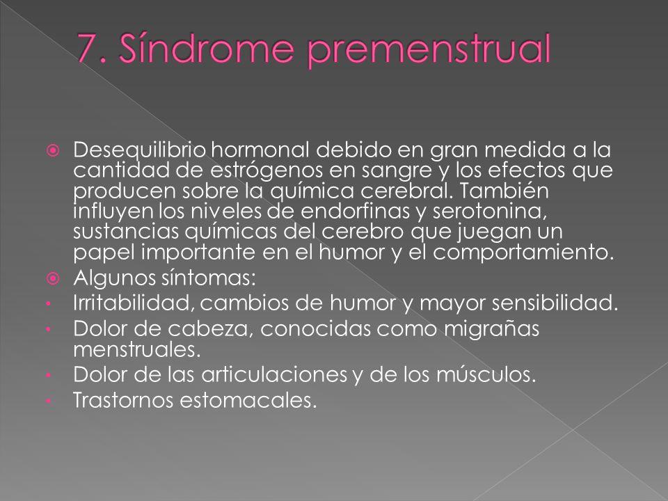 7. Síndrome premenstrual