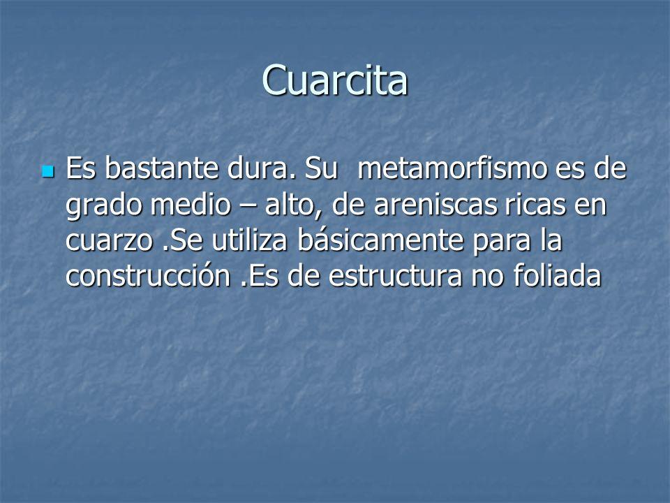 Cuarcita