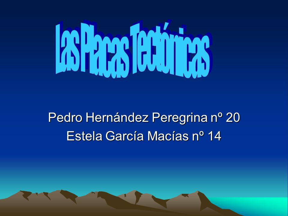 Pedro Hernández Peregrina nº 20 Estela García Macías nº 14