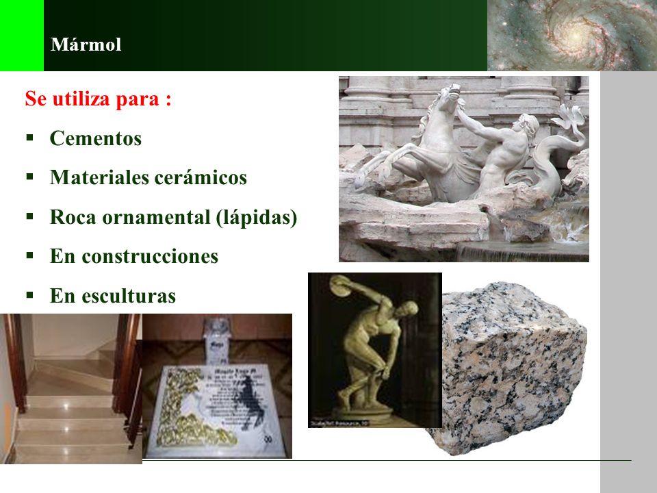 Roca ornamental (lápidas) En construcciones En esculturas