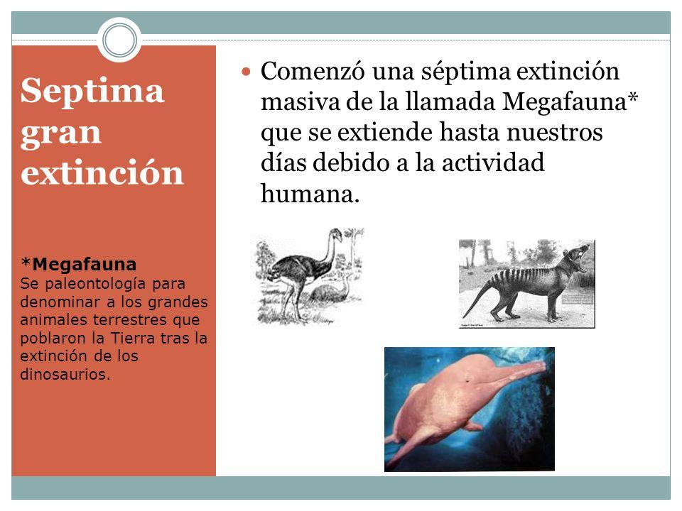Septima gran extinción