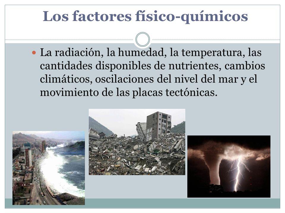 Los factores físico-químicos