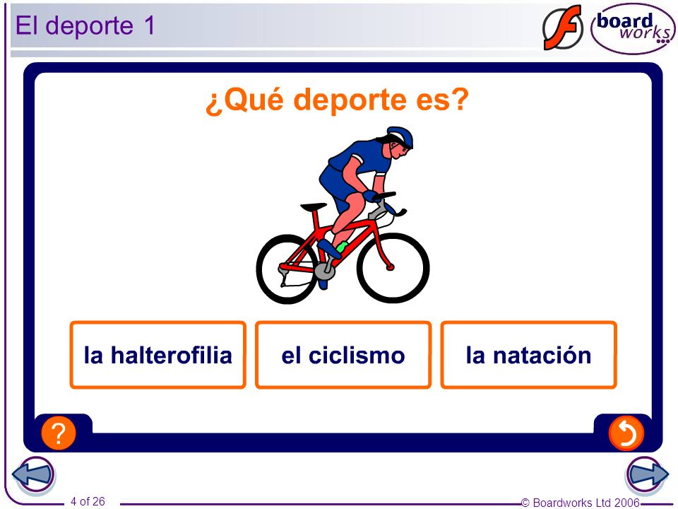 El deporte 1 This activity revises sports vocabulary.
