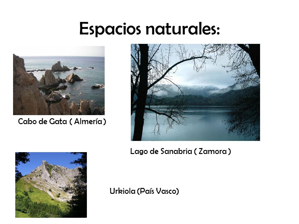 Espacios naturales: Cabo de Gata ( Almería )