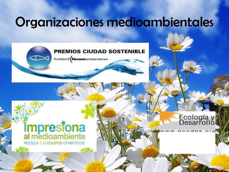 Organizaciones medioambientales