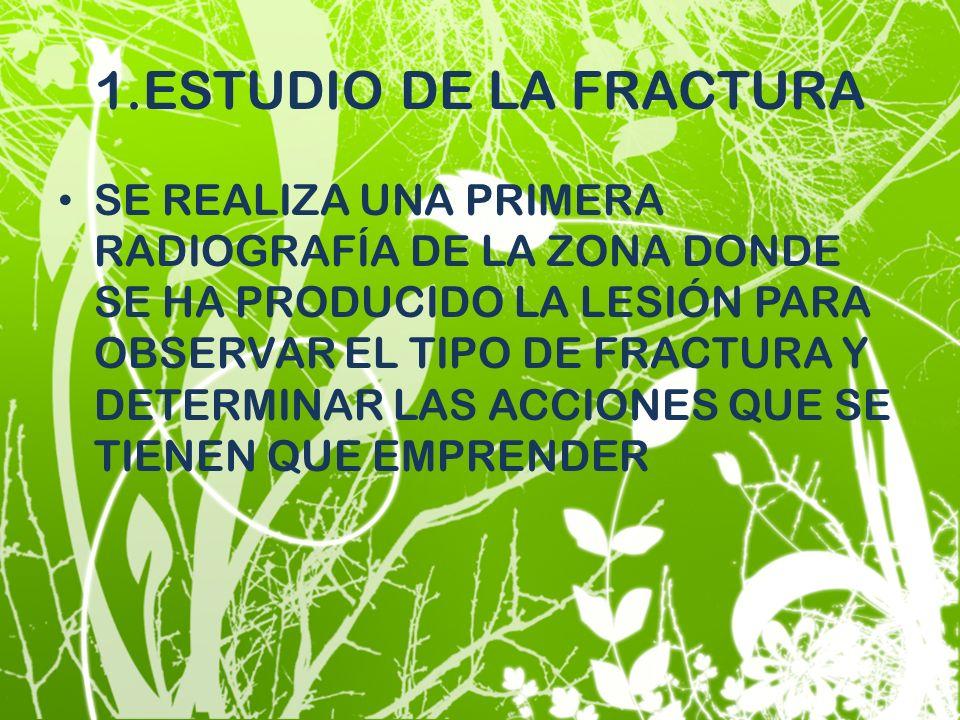 1.ESTUDIO DE LA FRACTURA