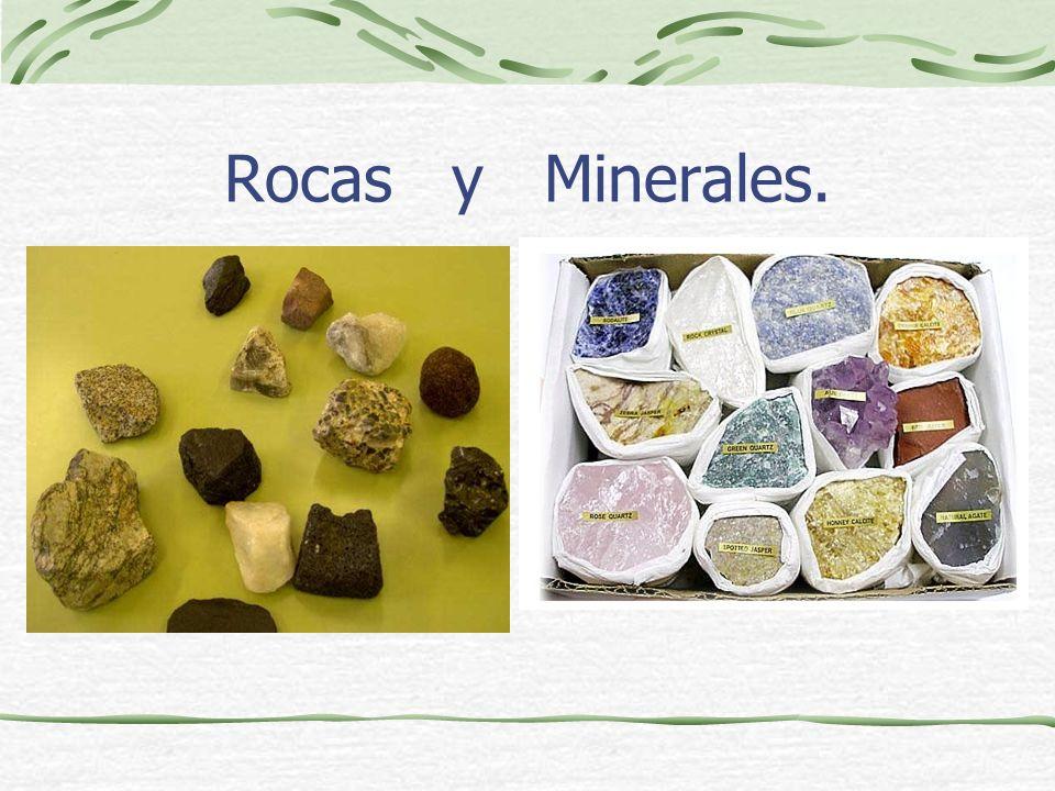 Rocas y Minerales.