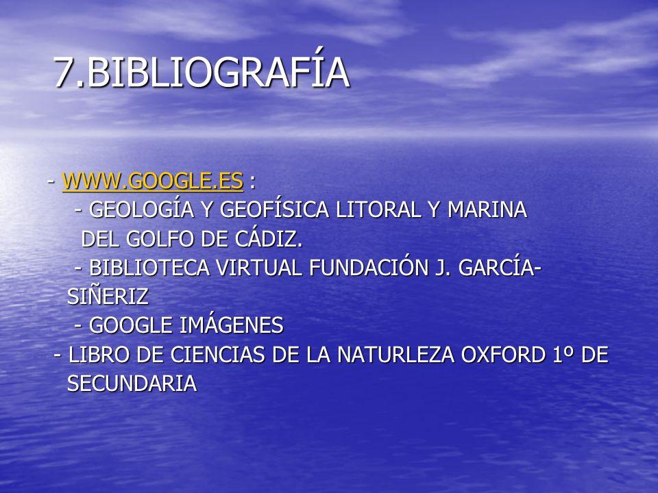 7.BIBLIOGRAFÍA - WWW.GOOGLE.ES :