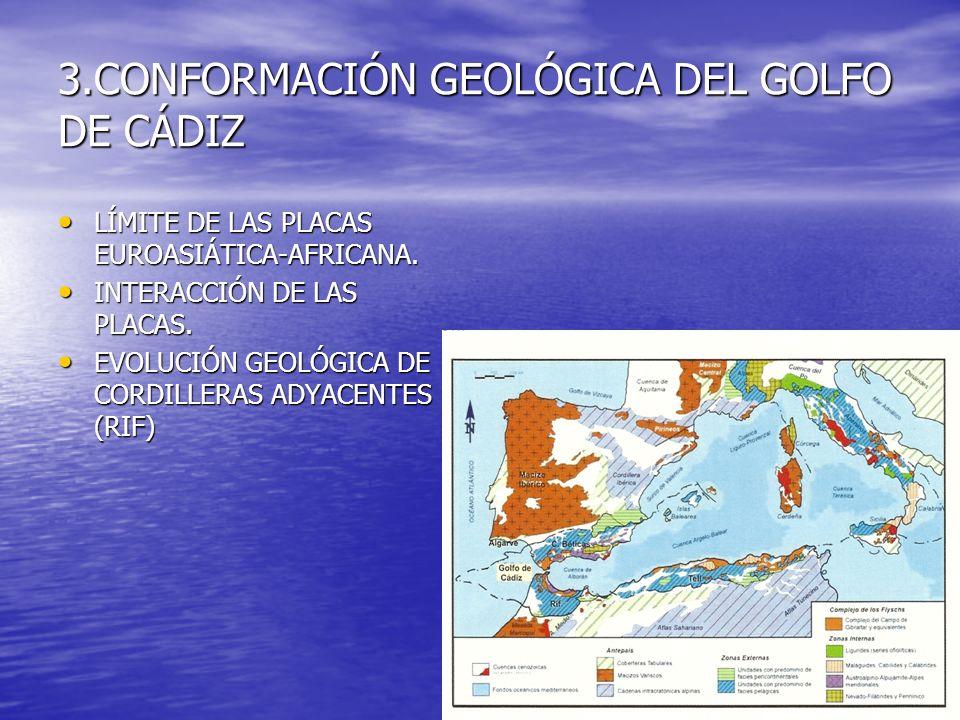 3.CONFORMACIÓN GEOLÓGICA DEL GOLFO DE CÁDIZ