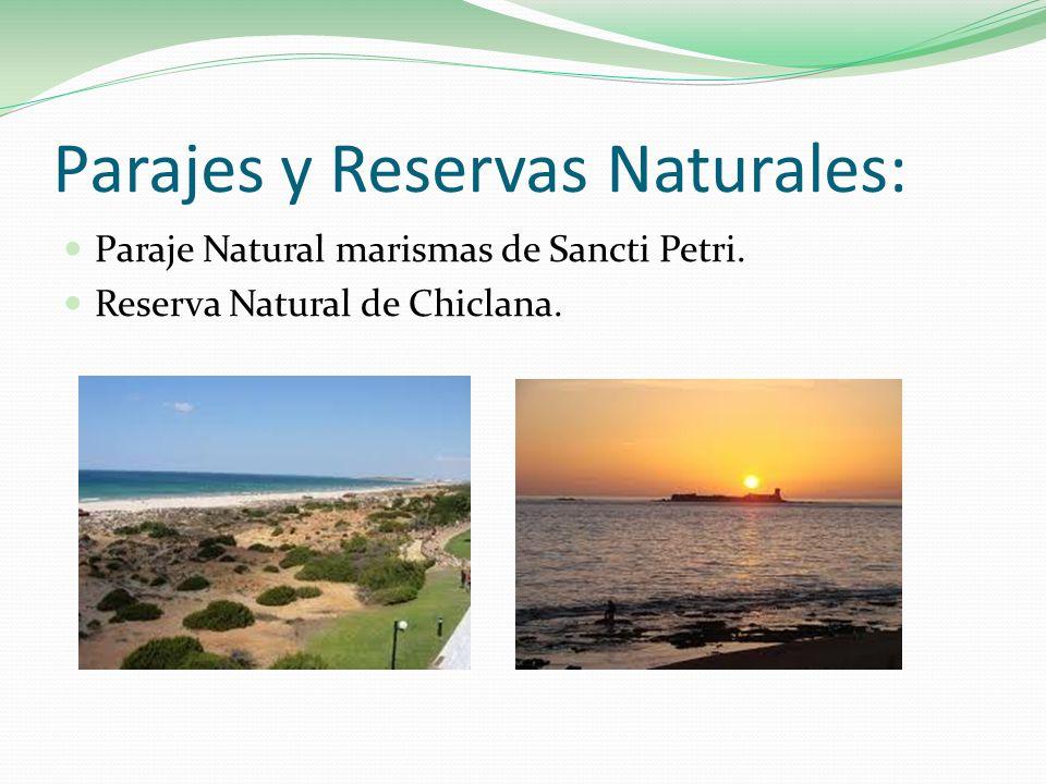Parajes y Reservas Naturales: