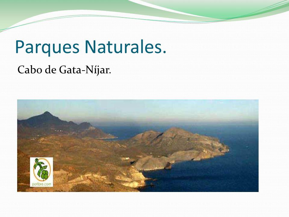 Parques Naturales. Cabo de Gata-Níjar.
