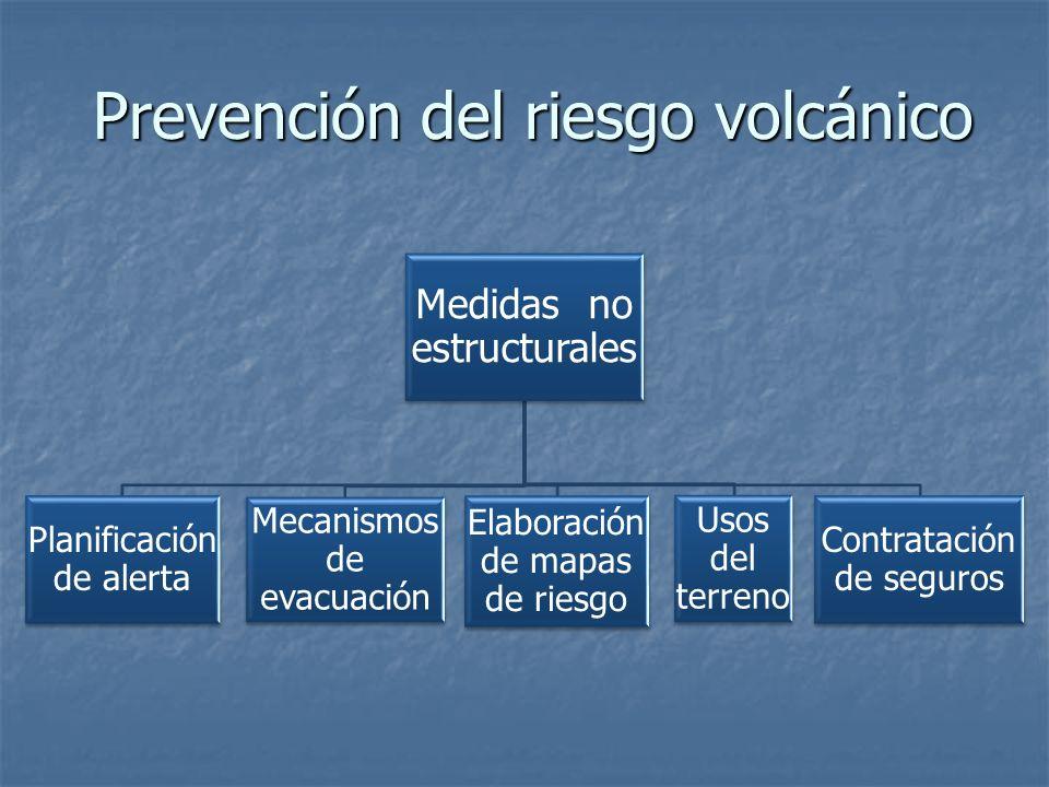 Prevención del riesgo volcánico