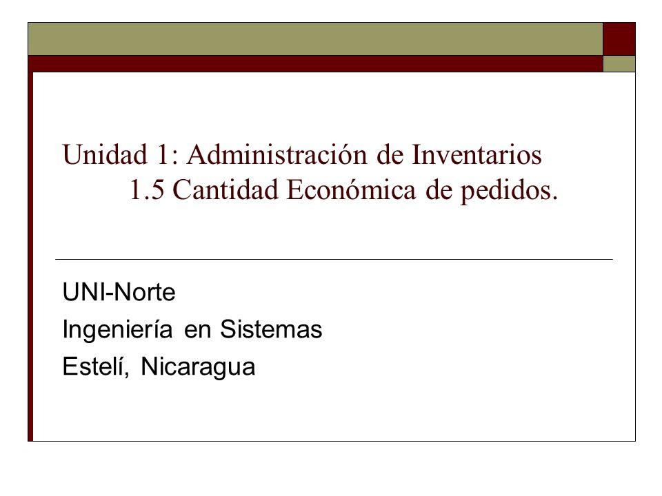 UNI-Norte Ingeniería en Sistemas Estelí, Nicaragua